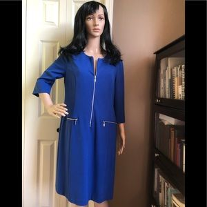 Cleo Petites Royal Blue Dress